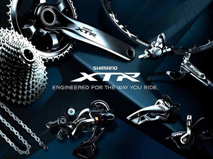 Новое железо: А вот и новенький групсет Shimano XTR  M9000