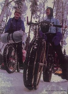 Блог компании Bikesgate: IditaRod. Культовая фэтбайк-гонка на Аляске.