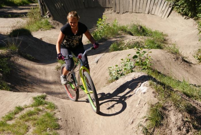 Блог им. Sasha_Avers: Девушка и горный велосипед.Начало.