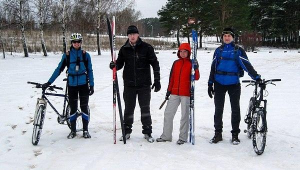 Блог им. pashevich: Зима: велосипед vs. лыжи