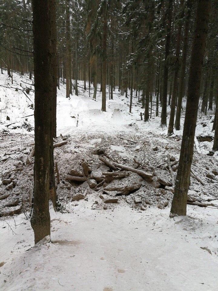 МТБ в Беларуси: Они убили очередной спот... на этот раз в Беларуси :(