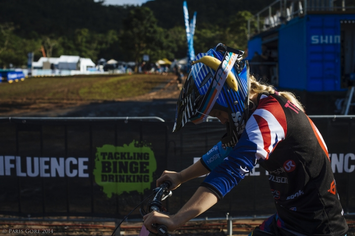 World events: Tracey Hannah Racing And Sliding At Home