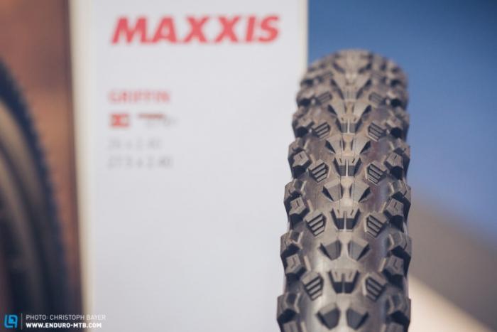 Велоиндустрия: Eurobike 2014: Maxxis Griffin