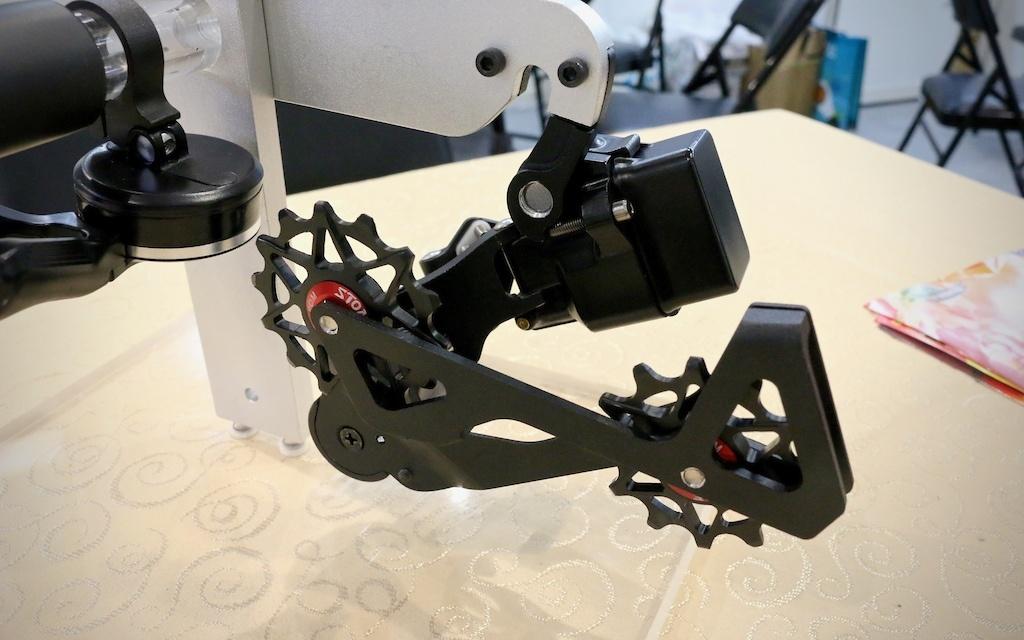Новое железо: Вышнее колесо беспроводной 12 скоростной переключатель триггерная из кетая. Cype Show Taipei 2019