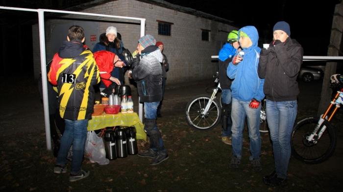 Наши гонки: Ночная гонка с фонариками Тёмная сторона. Псков