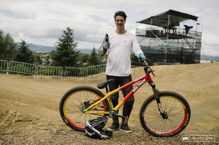 Blogger's name Aveega: Байкчек Crankworx Rotorua slopestyle