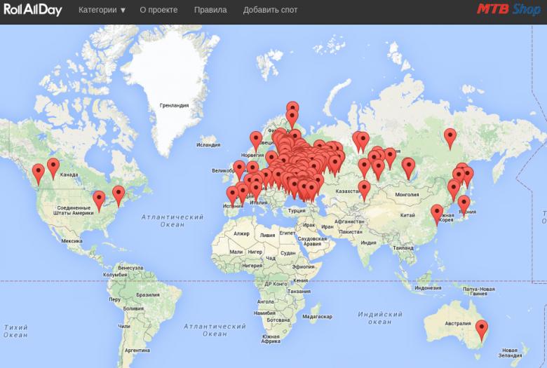 Spotmap: Год спустя