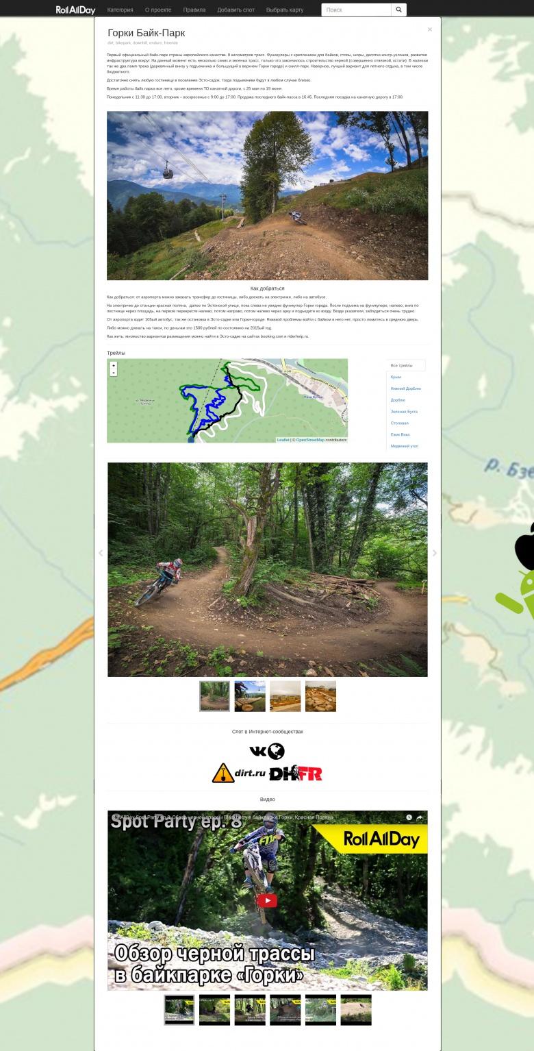 Spotmap: Шаг второй, уверенный. Часть первая.
