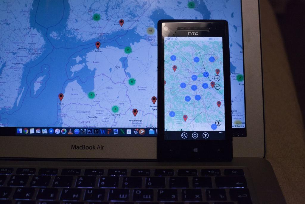 Spotmap: Релиз приложения под Windows Phone