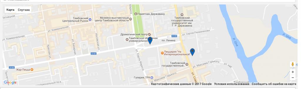 Spotmap: Кухня проекта