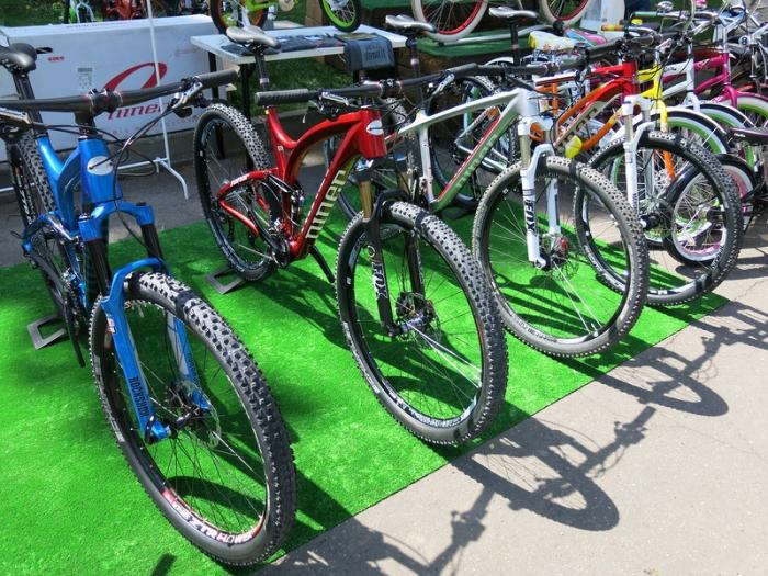 Блог компании Niner Bikes: Niner на Велобульваре 2014 и новое поступление велосипедов и рам.
