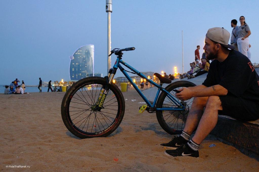 Блог им. PetrAndreev: О съемках нового фильма Ride The Planet в Каталонии