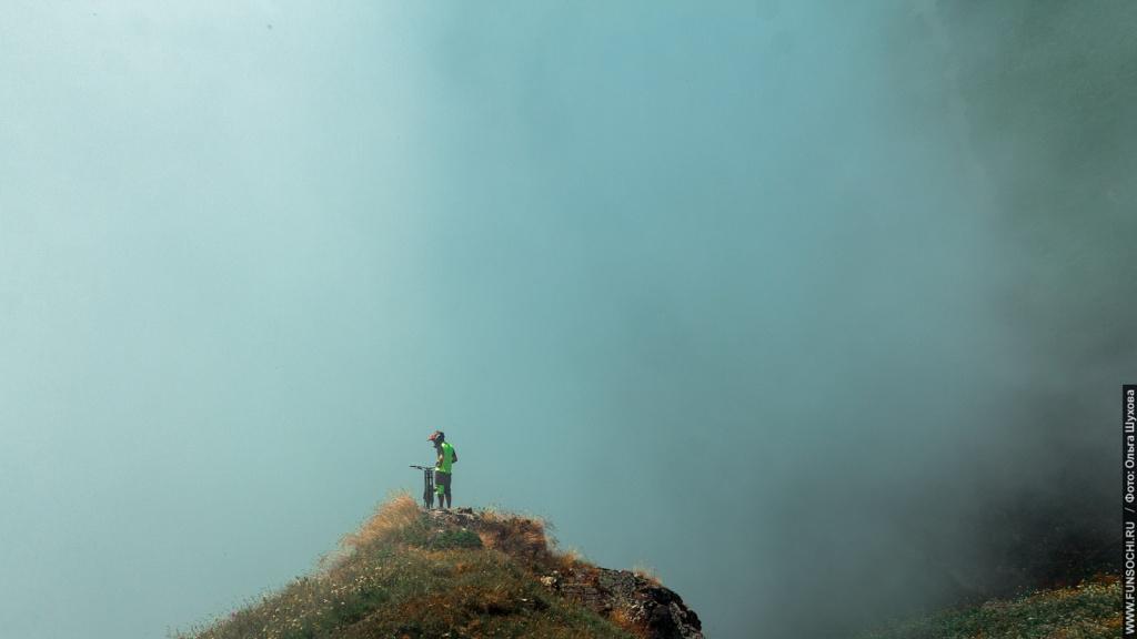 Блог им. DumSpero: Фрирайд на хребте Аибга. Ник Пухирь
