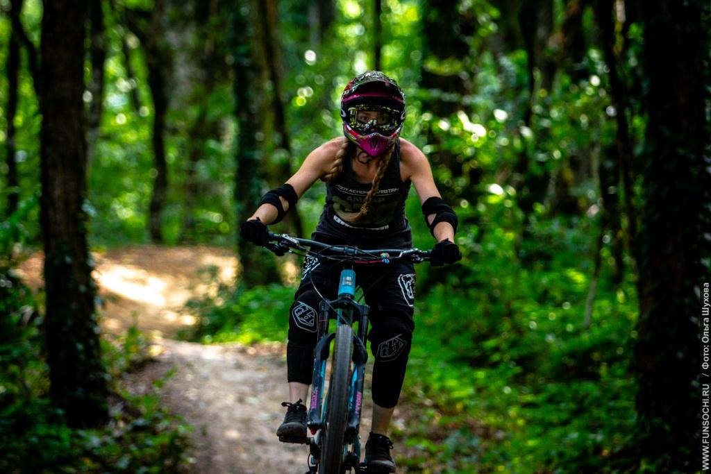 Gorky Bike Park: Only girls in bike park