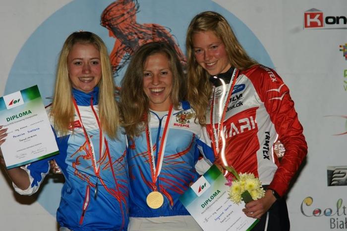 Блог им. Volya: Женское золото Чемпионата Мира по МТБО (ориентирование)