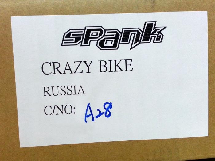 Блог компании CRAZYBIKE: SPANK 2015 - В наличии!