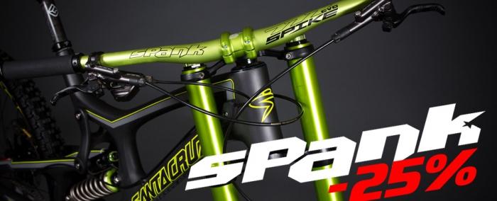 Блог компании CRAZYBIKE SHOP: Велозапчасти SPANK со скидкой -25%