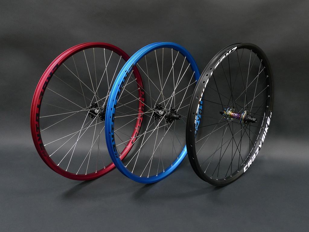 Блог компании CRAZYBIKE SHOP: Готовые вилсеты и колеса в сборе 24, 26, 27.5 и 29 дюймов