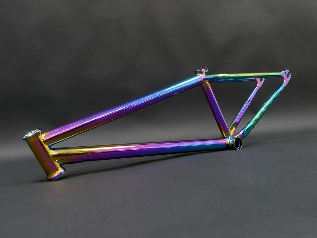 Блог компании CRAZYBIKE SHOP: Прототип стритовой рамы и вилки CB TREND