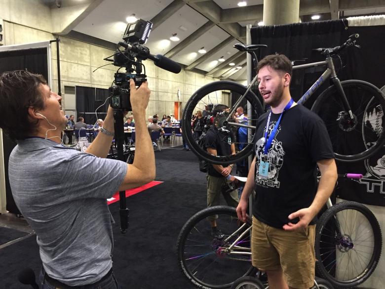 Блог им. toresvelo: Triton bikes на выставке NAHBS 2016