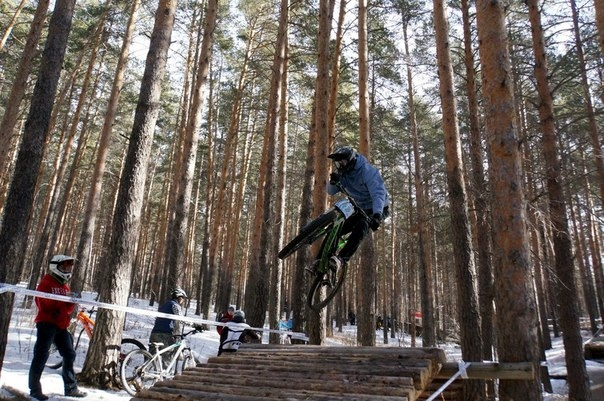 Блог им. CMEX: Чемпионат Урала  по AIR DH - Uktus Freezride