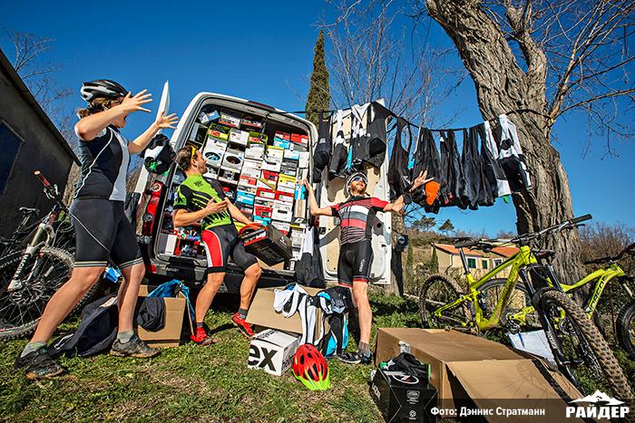 Журнал Райдер: Прикид, что надо! Мега-примерка: Обувь, шлемы и велотрусы