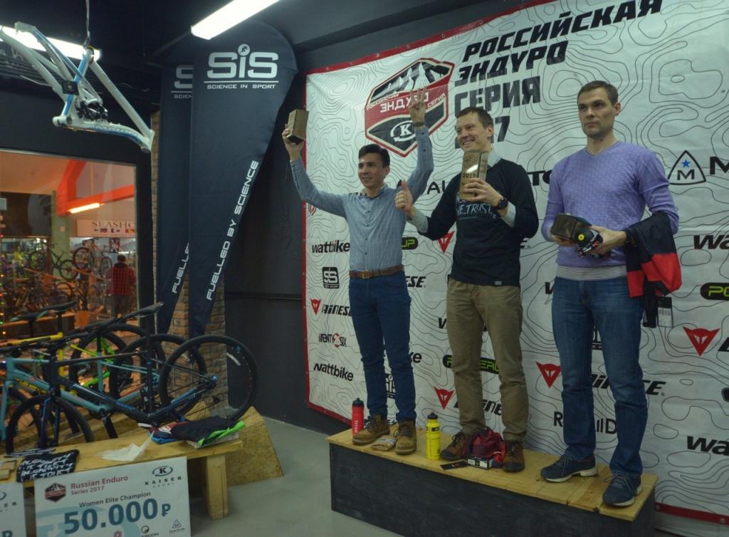 Российская эндуро серия: Награждение победителей РЭС 2017