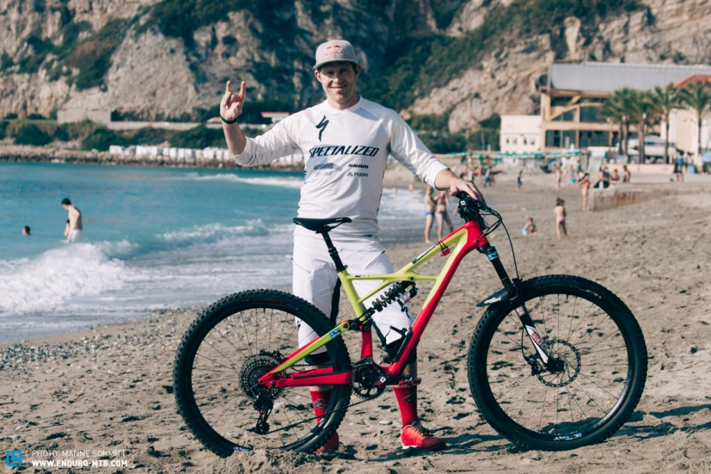 Блог компании Specialized: Обзор Specialized S-Works Enduro Кертиса Кина