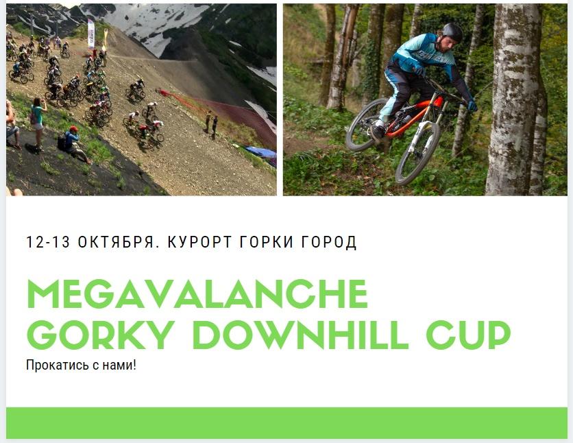 Gorky Bike Park: МЕГАЛАВИНА и 3 этап кубка Горки Город - 12-13 октября