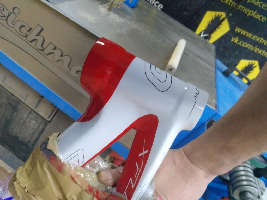Блог им. X-place: Восстановление внешнего вида рулевого стакана
