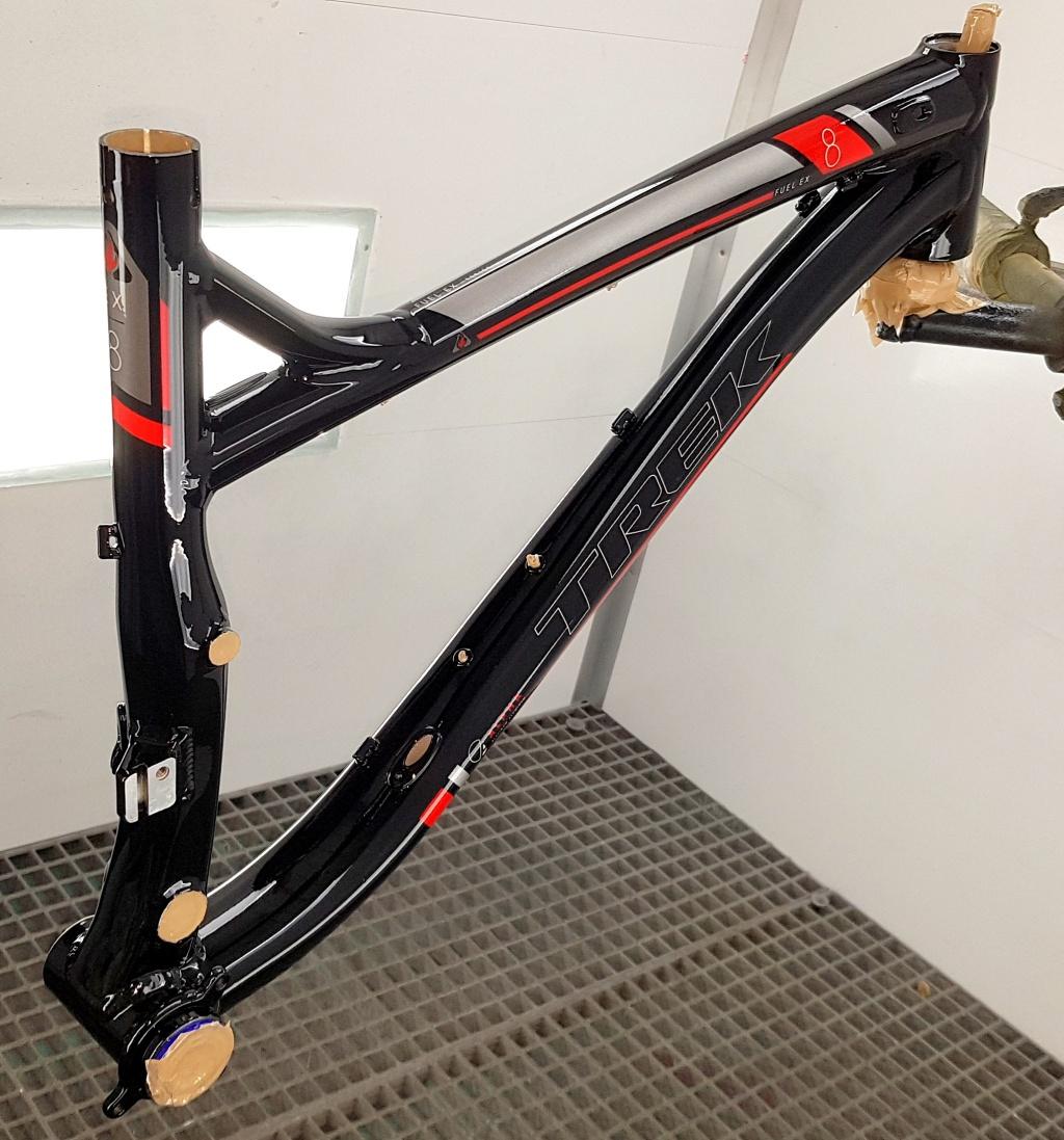 Блог им. X-place: Восстановление внешнего вида велосипеда TREK