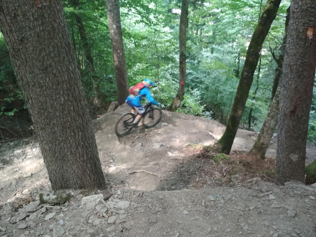 Блог им. CrazzyKat: Трасса чемпионата Франции по даунхиллу и немножко о слоупстайле Loose Riders