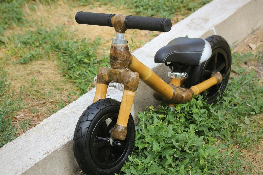 Блог им. 26inch: Беговел из бамбука