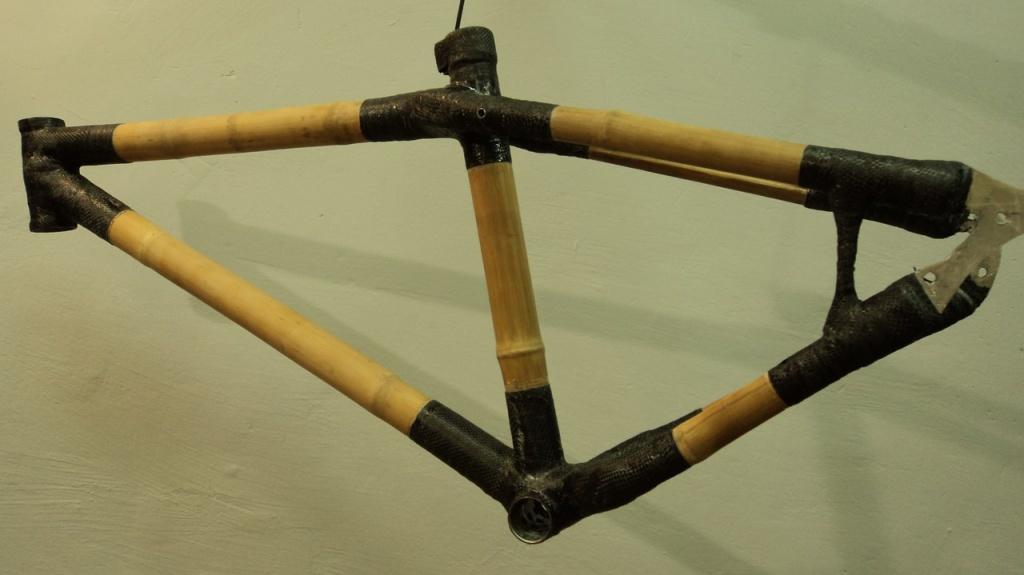 Блог им. 26inch: Рама из бамбука и карбона. #Cucumber #custom #26дюймов