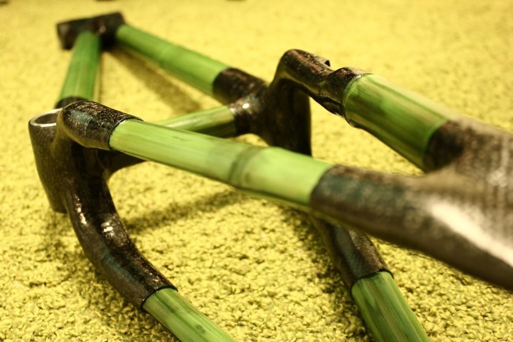 Блог им. 26inch: Рама для триала из бамбука.