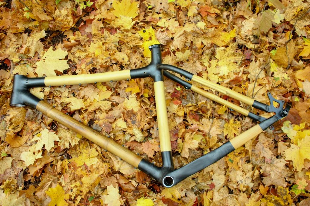 Блог им. 26inch: Велосипедная рама  для фэтбайка из бамбука с карбоновыми узлами
