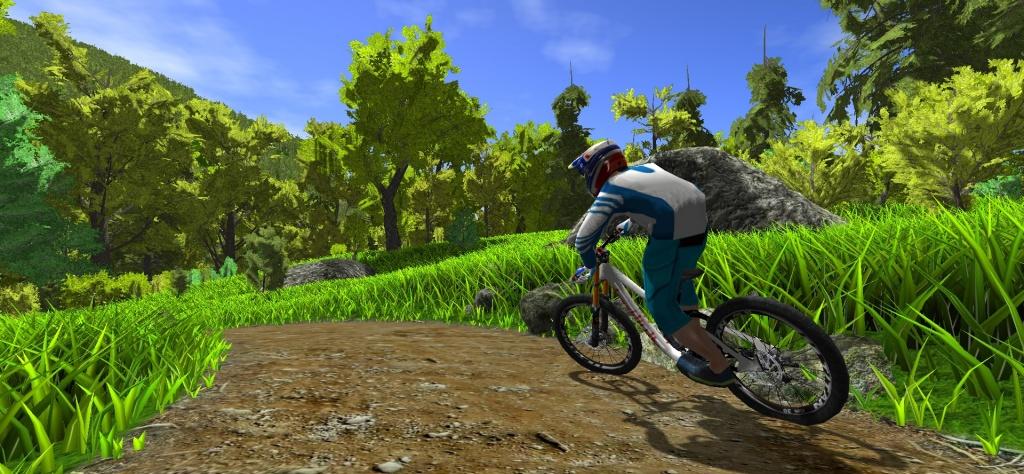 Блог им. AleksandrNK: Симулятор горного велосипеда MTB Game