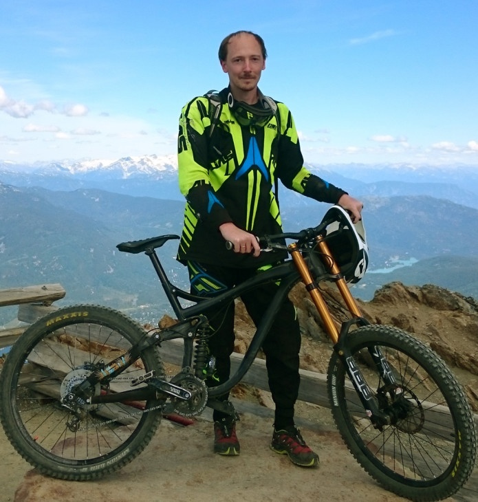 Блог им. AleksandrNK: Стартовала кампания по народному финансированию симулятора горного велосипеда