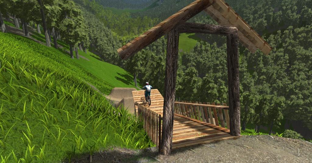 Блог им. AleksandrNK: Виртуальный Innsbruck Crankworx Slopestyle