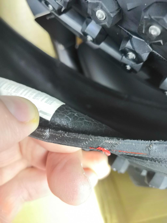 Блог им. Volger: Дефектная покрышка с chainreactioncycles?