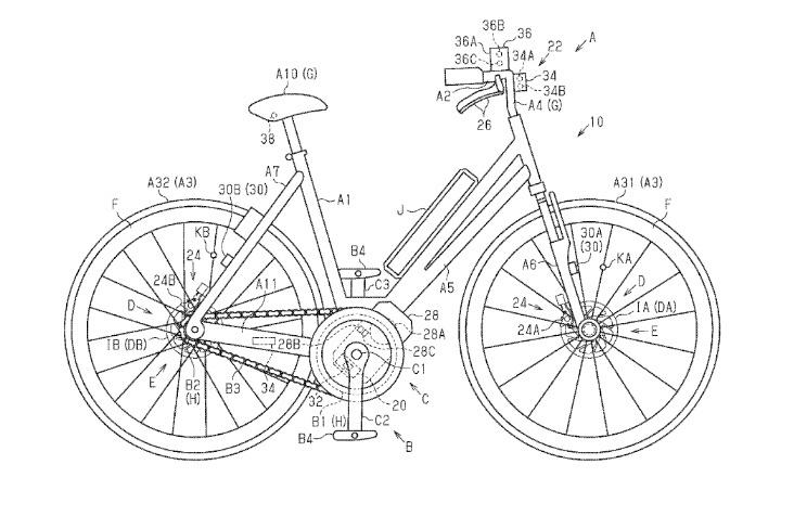 Блог им. DavidRace1: Shimano работает над ABS для велосипедов .